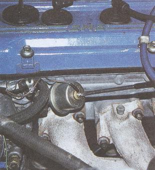 наконечник провода датчика указателя давления масла