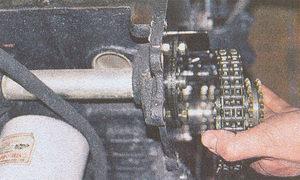 звездочка промежуточного вала двигателя ЗМЗ 406