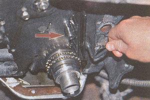 успокоитель цепи Волга ГАЗ 31105 двигатель ЗМЗ 406