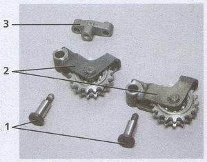 узлы натяжения цепей Волга ГАЗ 31105