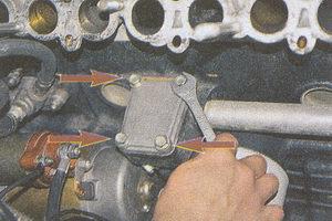 крепления крышки привода масляного насоса ГАЗ 31105