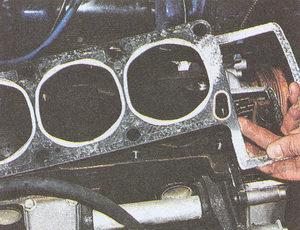 прокладка блока цилиндров двигатель ЗМЗ 406