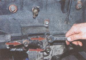 кронштейн передней опоры двигателя ЗМЗ 406