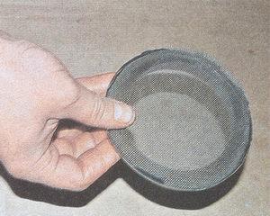сетка масляного насоса