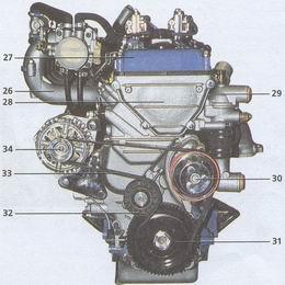 двигатель ЗМЗ 406 Волга ГАЗ 31105