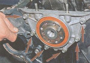 крышка блока цилиндров двигатель ЗМЗ 406