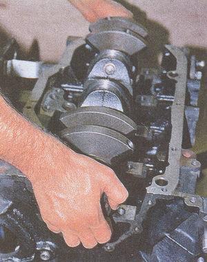 коленвал двигатель ЗМЗ 406