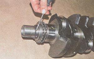 резиновое кольцо коленвала двигатель ЗМЗ 406