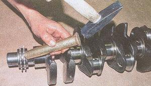 звездочка коленчатого вала двигатель ЗМЗ 406
