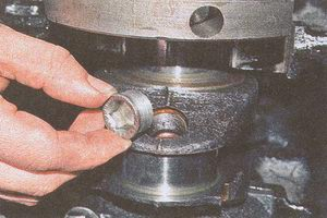 заглушки масляных каналов коленчатого вала