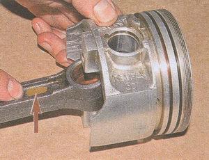 шатун двигатель ЗМЗ 406