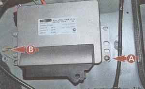 электронный блок управления двигателем ЗМЗ 406 на автомобиле Волга ГАЗ 31105