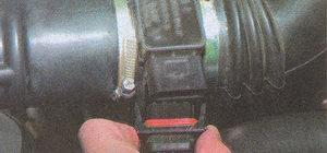 колодка жгута проводов системы управления двигателем и датчика массового расхода воздуха Волга ГАЗ 31105