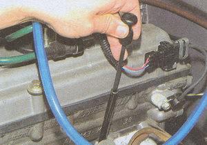 щуп проверки уровня масла в двигателе ЗМЗ 406