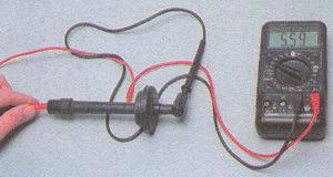 сопротивление наконечника высоковольтного провода двигатель ЗМЗ 406 Волга ГАЗ 31105