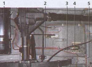 элементы системы питания инжекторного двигателя