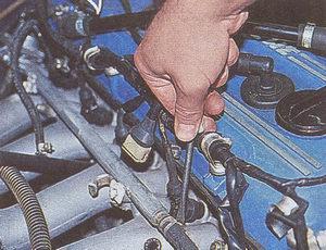 схема центропроводов змз 406