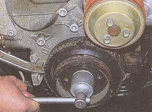 шкив коленчатого вала двигателя ЗМЗ 406