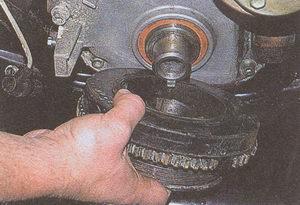 шкив коленвала двигателя ЗМЗ 406