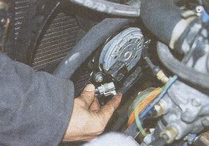 колодка проводов вентилятора системы охлаждения