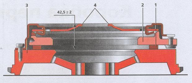 проверка диафрагменной пружины Волга ГАЗ 31105