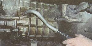 замена масла в в коробке передач ГАЗ 31105
