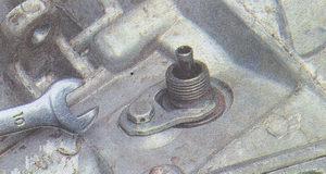 скоба крепления привода датчика скорости ГАЗ 31105