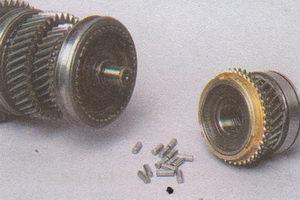 первичный и вторичный валы коробки передач ГАЗ 31105