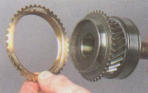 блокирующее кольцо IV передачи