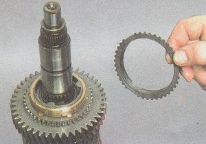 блокирующее кольцо синхронизатора 1 передачи