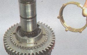 среднее кольцо синхронизатора 1 передачи