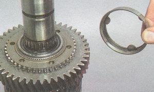 внутреннее кольцо синхронизатора 1 передачи