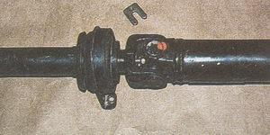 п-образная пластина вилки карданного вала автомобиля Волга ГАЗ 31105