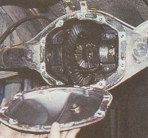 крышка картера редуктора заднего моста автомобиля Волга ГАЗ 31105