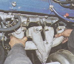 выпускной коллектор ГАЗ 31105