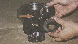 шайба шестерни полуоси дифференциала ГАЗ 31105