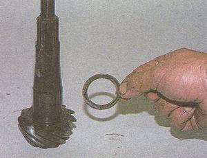 регулировочное кольцо подшипника ведущей шестерни заднего моста ГАЗ 31105