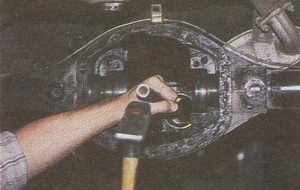 наружное кольцо переднего подшипника ведомой шестерни ГАЗ 31105