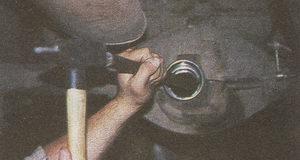 наружное кольцо заднего подшипника ведомой шестерни ГАЗ 31105
