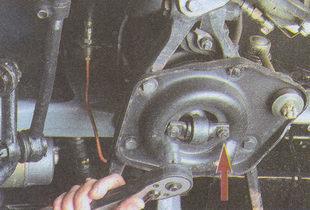 гайки нижнего крепления амортизатора Волга ГАЗ 31105