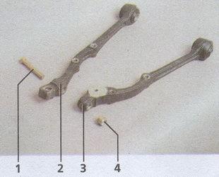элементы нижнего рычага Волга ГАЗ 31105