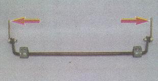 штанги стойки стабилизатора поперечной устойчивости Волга ГАЗ 31105