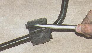 обоймы резиновых подушек штанги стабилизатора Волга ГАЗ 31105