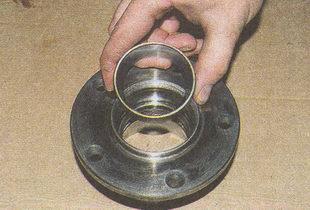 наружные кольца подшипников ступицы