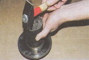 запрессовка в ступицу наружного кольца подшипника