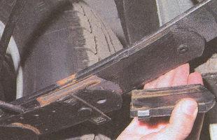 прокладка рессоры ГАЗ 31105