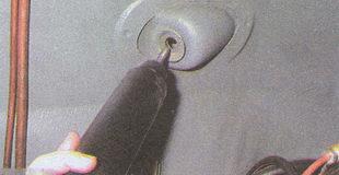 установка заднего амортизатора на автомобиль Волга ГАЗ 31105
