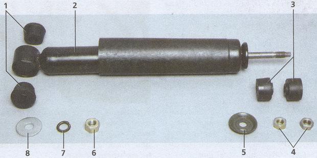 амортизатор автомобиля Волга ГАЗ 31105
