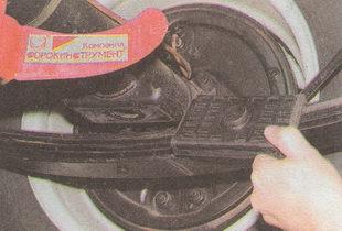 резиновая подушка рессоры ГАЗ 31105