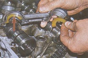 вкладыши распределительных валов ГАЗ 31105